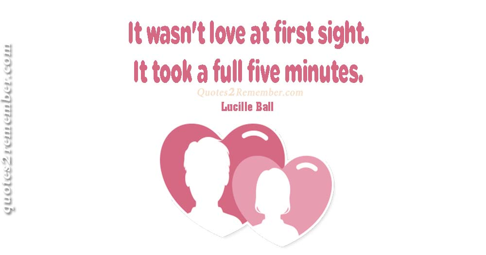 It Wasnu0027t Love At First Sightu2026