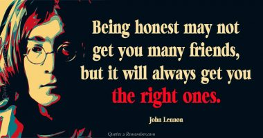 Tag John Lennon Being Honest May Not Get You